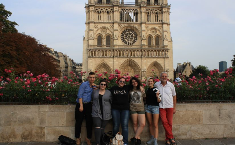 Friedliches Paris erlebt