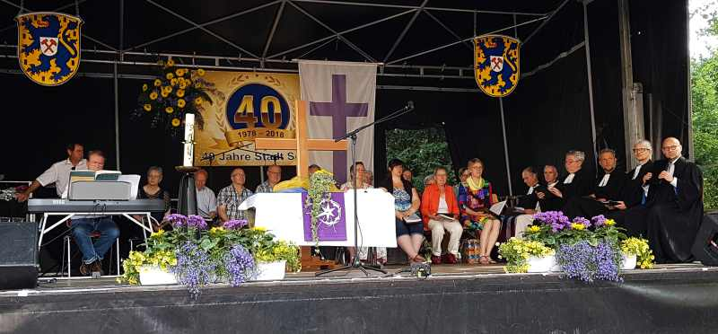 Evangelische Kirchengemeinden machen mit beim Stadtjubiläum Solms