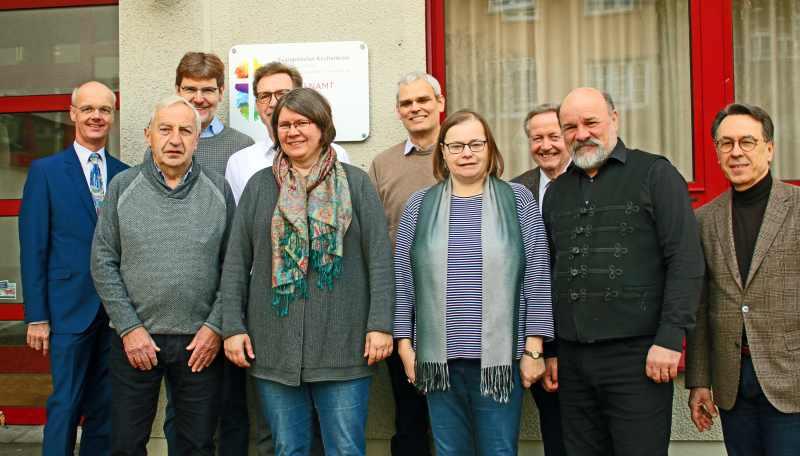 Besuch aus Erfurt