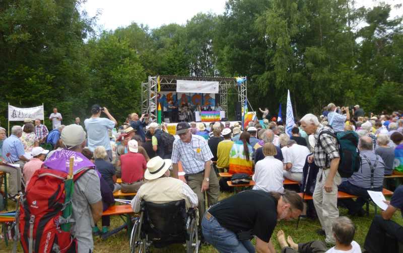 2. Aktionstag am Fliegerhorst Büchel/Eifel