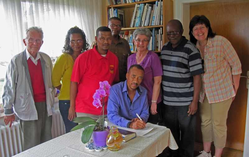 Delegation aus Namibia kommt