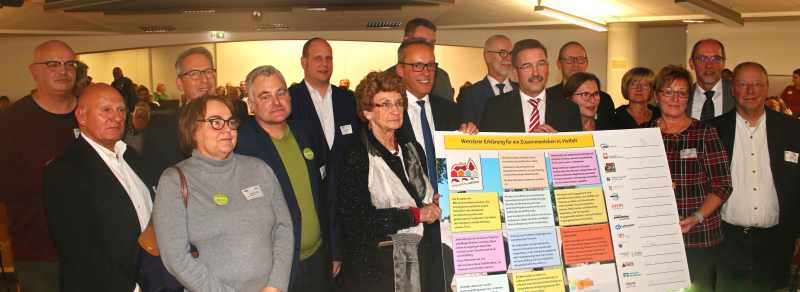Erklärung im Neuen Rathaus in Wetzlar unterschrieben